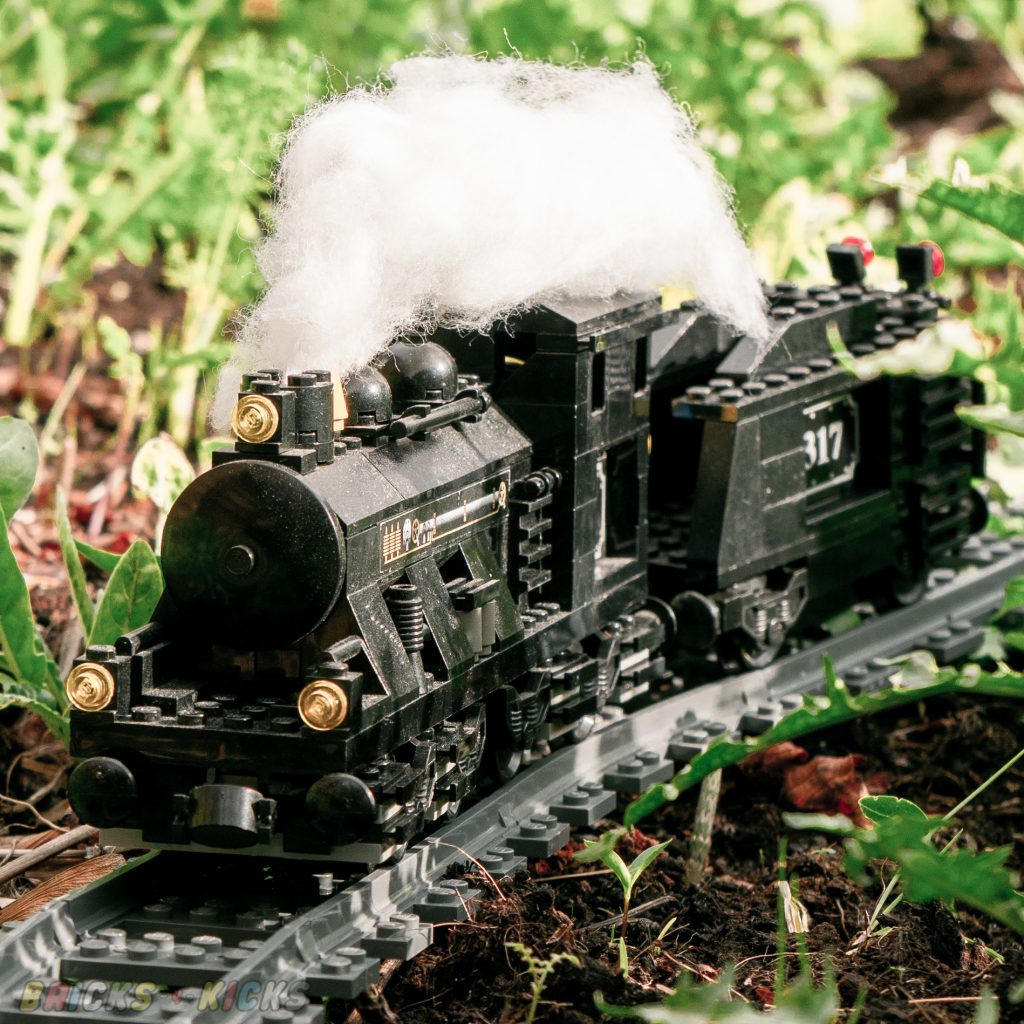 Train set 10205 in the wild
